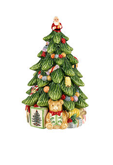 Christmas Tree Figural Candy Dish