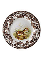 Woodland Quail Dinner Plate