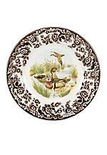 Woodland Duck Dinner Plate