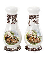 Woodland Rabbit Salt & Pepper Shakers