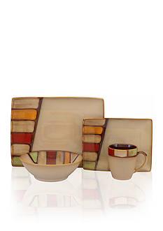 Sango Elements Brown 16-Piece Set - Online Only