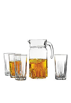 Crystal Clear Florence 5 Piece Drink Set