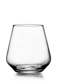 Crystal Clear Sarah Stemless Wine Glasses, Set of 4