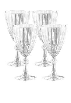 Crystal Clear Reflections 4-pack All Purpose Wine Goblets 10.25-oz.
