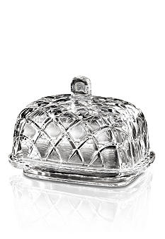 Crystal Clear Muirfield Butter Dish