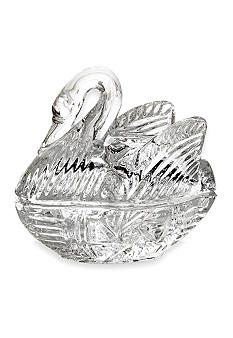 Crystal Clear Swan Decorative Box