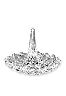 Crystal Clear Ring Holder