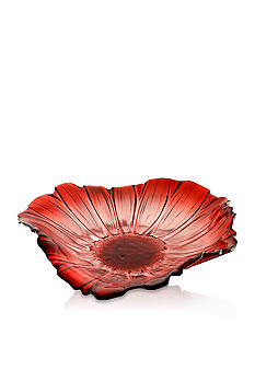 Crystal Clear Venezia Red Tray