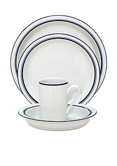 Dansk Christianshavn Blue 4-Piece Place Setting - Online Only