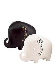 Kate Spade Woodland Park Elephant Salt & Pepper Set