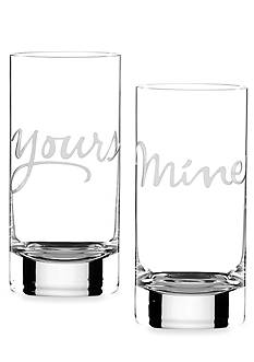 kate spade new york Two of a Kind 16-oz. Glasses