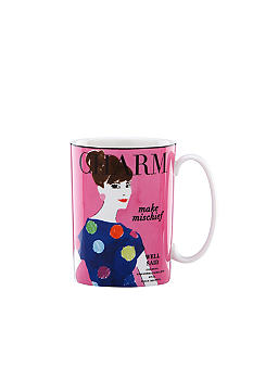 Kate Spade Make Headlines Make Mischief Mug