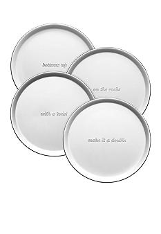 Kate Spade Silver Street Set of 4 Coasters