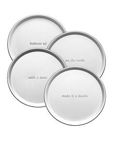 kate spade new york Silver Street Set of 4 Coasters