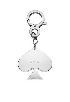 Kate Spade Silver Street Key Ring, Off We Go