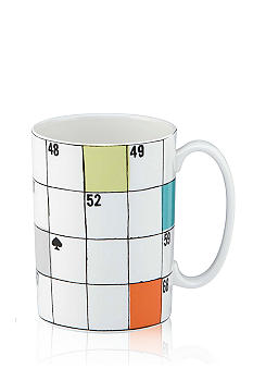 Kate Spade Say The Word Crossword Mug