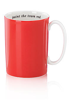 Kate Spade Say The Word Orange Mug