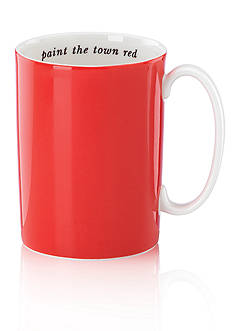 kate spade new york Say The Word Orange Mug Paint the Town Red