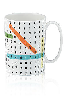 Kate Spade Say The Word Wordsearch Mug