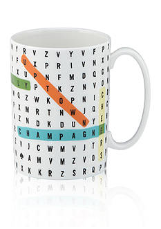 kate spade new york Say The Word Wordsearch Mug