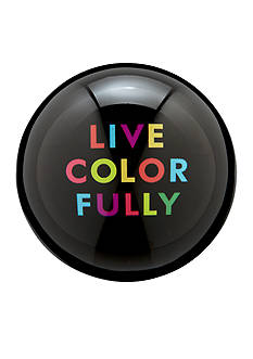 kate spade new york Say The Word Paper Weight 'Live Colorfully'