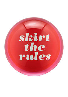 kate spade new york Say The Word Paper Weight 'Skirt the Rules'