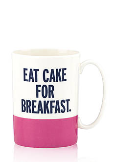 kate spade new york 'Eat Cake for Breakfast' Mug