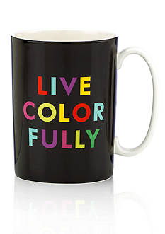 kate spade new york 'Live Colorfully' Mug