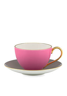 kate spade new york Greenwich Grove Cup and Saucer Set - Pink - Online Only