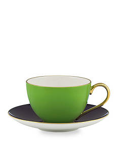 kate spade new york Greenwich Grove Cup & Saucer Set - Green - Online Only