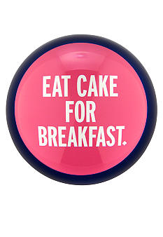 Kate Spade Things We Love - Eat Cake for Breakfast Paperweight