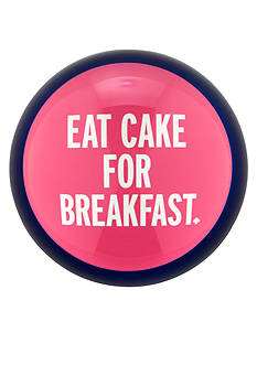 kate spade new york® Things We Love - Eat Cake for Breakfast Paperweight