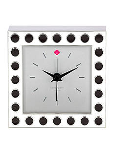 kate spade new york Cross Pointe Clock with Spots