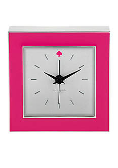 kate spade new york Cross Pointe Clock - Pink