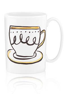kate spade new york Daisy Place Creme de la Creme Mug