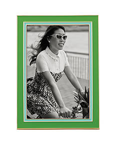 kate spade new york Lacquer 4x6 Frame Green/Turqoise