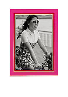 kate spade new york Lacquer 4x6 Frame Pink/Red