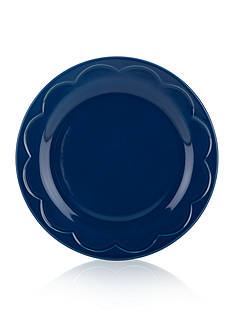 kate spade new york all in good taste Sculpted Scallop Accent Plate