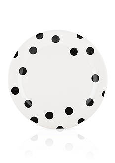 kate spade new york all in good taste 10.5-in. Deco Dot Dinner Plate