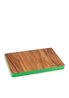 kate spade new york don't cut corners Rectangular Wood Cutting Board