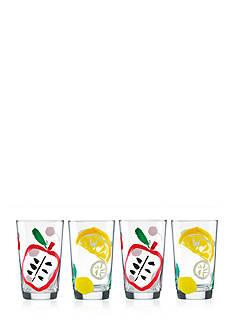 kate spade new york all in good taste Pretty Pantry 4-Piece All-Purpose Beverage Set