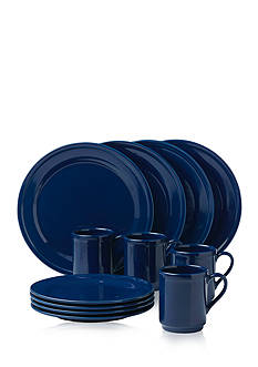 kate spade new york all in good taste Sculpted Scallop 12-Piece Dinnerware Set