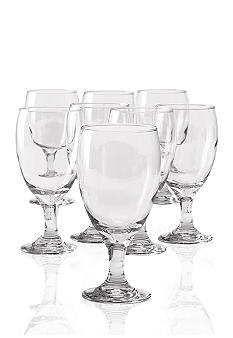 Libbey 8 pc. Catawba Footed  Iced Tea Set