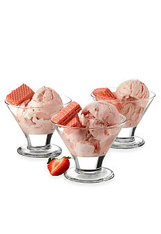 Libbey Fountain Shoppe Flare Dessert 6-piece Set