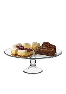 Libbey Selene Footed Cake Platter