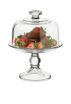 Libbey Selene 2 pc Footed Dessert Dome