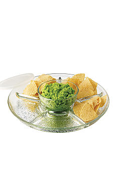 Libbey 3 Piece Frost Chip and Dip Set - Online Only