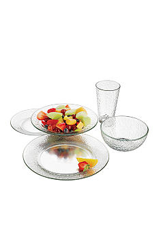 Libbey 20 Piece Frost Dinner Set - Online Only