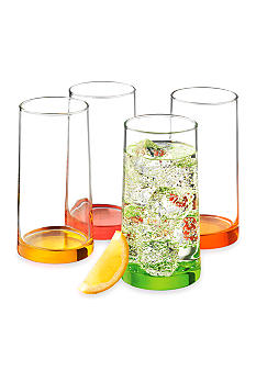 Libbey Cabos Citrus 4-piece Cooler Set - Online Only