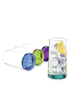 Libbey Sea Splash 4-piece Cooler Set - Online Only
